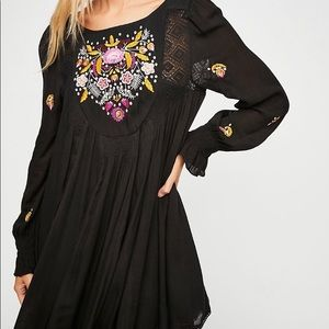 Free People NWT Avail: 3/25 Moya Embroidered Mini